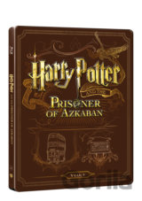 Harry Potter a vězeň z Azkabanu (Blu-ray + DVD bonus) - steelbook