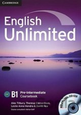English Unlimited - Pre-intermediate - Coursebook (Alex Tilbury, Theresa Clement