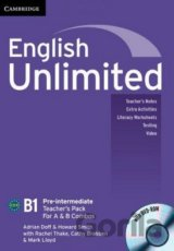 English Unlimited - Pre-intermediate - A and B Teacher's Pack