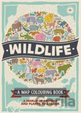 Wildlife: A Map Colouring Book (Colouring Boo... (Natalie Hughes)