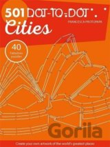 501 Dot-to-Dot Cities (Drawing) (Francesca Protopapa) (Paperback)