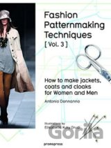 Fashion Patternmaking Techniques: Vol. 3: How... (Antonio Donnanno, Elisabetta D