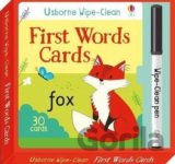 Wipe-Clean First Words Cards (Wipe-Clean Card... (Felicity Brooks, Malu Lenzi)
