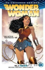 Wonder Woman TP Vol 2 Year One (Rebirth) (Pap... (Greg Rucka, Nicola Scott)