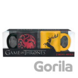 Hrnečky Game of Thrones 110ml - Targaryen & Baratheon