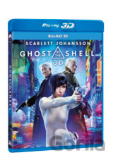 Ghost in the Shell (2017 - 3D - Blu-ray - CZ titulky)