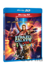 Strážci Galaxie Vol. 2 (2017 - 3D + 2D - 2 x Blu-ray)