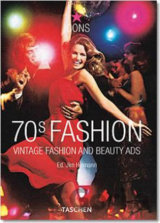 70s Fashion : Vintage Fashion and Beauty Ads (Laura Schooling) (Paperback)