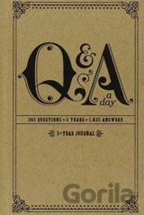 Q and A a Day: 5-Year Journal (Diary) (Potter Style)