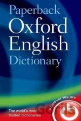 Paperback Oxford English Dictionary  (Oxford Dictionaries)