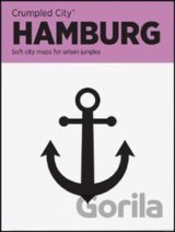 Hamburg Crumpled City Map