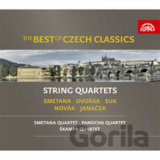 VARIOUS: BEST OF CZECH CLASSICS-SMYCCOVE KVARTETY (  3-CD)