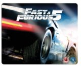 Fast & Furious 5 - Limited Edition Steelbook Triple Play [Blu-ray]