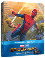 Spider-Man: Homecoming 3D Steelbook (3D + 2D  Blu-ray)