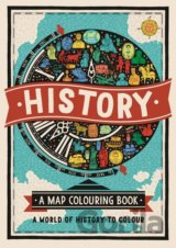 History: A Map Colouring Book (Charlotte Farmer)