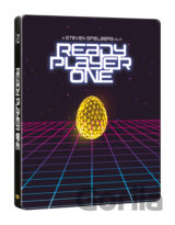 Ready Player One: Hra začíná 3D Steelbook (3D + 2D Bluray)