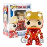 Funko POP! Iron Man (unmasked)
