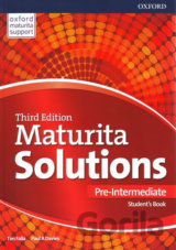 Maturita Solutions 3rd Edition Pre-Intermediate Student's Book Czech Edition (Fa