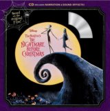 Tim Burton's The Nightmare Before Christmas Book and CD