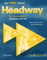 New Headway Pre-Intermediate 3rd Edition Workbook with Key (Soars, L. + J.)