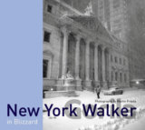 New York Walker in Blizzard