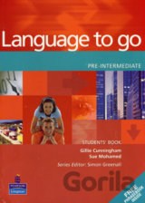 Language to Go Pre-Intermediate Students Book (Gillie Cunningham)