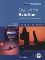 Express: English for Aviation Student's Book, MultiROM and Audio CD [Paperback]