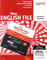 New English File Elementary Workbook Key + CD ROM pack (Clive Oxenden)