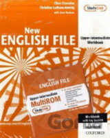 New English File Upper Intermediate Workbook with Answer Booklet and MultiRom Pa