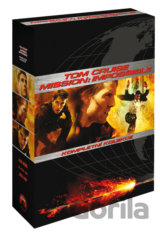 Tom Cruise kolekce: Mission: Impossible I, II, III (3 DVD)