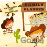 Family Planner Cowboys (816 little reminder stickers. Super magnetic hanger)