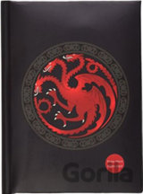 Blok A5 Game of Thrones: Targaryen logo