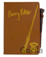 Blok s perom Harry Potter