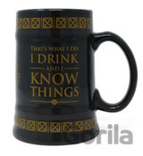 Keramický korbel Game of Thrones: Drink & Know Things