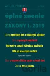 dfaeee5fa Aktualizácia 2019 I/2 - Úplné znenie zákonov po novele