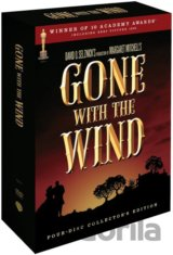 Jih proti severu - Gone with the Wind (4 DVD)