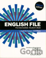 English File - Pre-Intermediate - Student's book (česká edice)