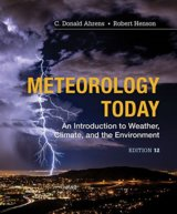 Meteorology Today: An Introduction to Weather, Climate and the Environment