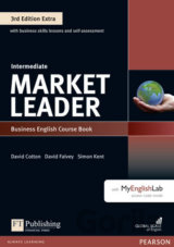 Market Leader - Intermediate - BUsiness English Course Book with DVD-ROM Pack