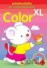 38d98fb02b Color XL - omalovánky se samolepkami