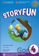 Storyfun 4: Teacher's Book with Audio