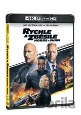 Rychle a zběsile: Hobbs a Shaw Ultra HD Blu-ray