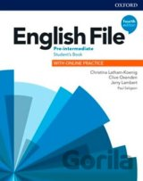 English File: Pre-Intermediate - Student's Book with Student Resource Centre Pack