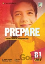 Prepare Second edition Level 4 - Student´s Book and Online Workbook