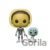 Funko POP! Rick & Morty S2 - Space Suit Morty w/Snake