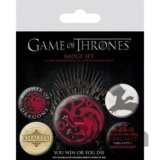 Odznaky Game of Thrones - Fire and Blood 5 ks