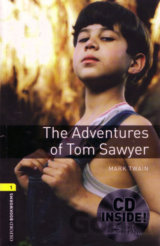Oxford Bookworms Library 1 Adventures of Tom Sawyer + CD (American English) (Hed