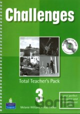 Challenges 3 Total Teachers Pack & Test Master CD-Rom 3 Pack (Melanie Williams)