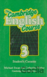 New Cambridge English Course 3 - Student's Cassette