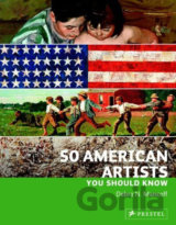 50 American Artists You Should Know (Debra N. Mancoff) (Paperback)